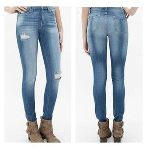 KanCan High Rise Skinny Stretch Jeans Distressed